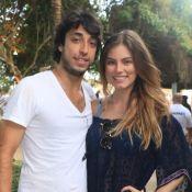 Bruna Hamú ganha surpresa do noivo com filho, Julio, em aniversário: 'Completa'