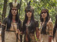 Novela 'Novo Mundo': Jacira treina índias com arco e flecha para salvar aldeia