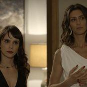 Rivais na TV, Maria Fernanda Cândido é amiga de Débora Falabella: 'Adorando'