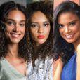 Débora Nascimento, Tais Araújo e Aline Dias são adeptas dos fios naturais. Veja na galeria mais famosas que assumiram os cachos!