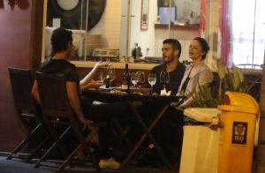 Fotografados juntos, Marcos Veras e Rosanne Mulholland negam romance: 'Amigos'