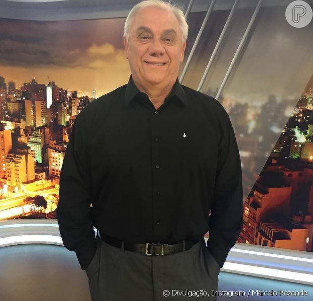 Marcelo Rezende, lutando contra o câncer, foi liberado pelos médicos para viajar