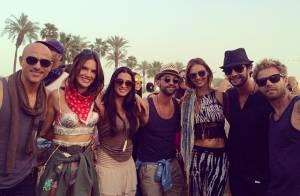 Rodrigo Santoro, Leonardo DiCaprio e outros famosos curtem o Coachella