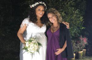 Grávida, Maíra Charken vai se casar com Renato Antunes em chá de bebê do filho