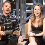 Sandy e Junior emocionam o pai, Xororó, na TV: 'Sei o quanto você fez por mim'