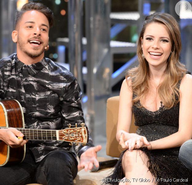 Sandy e Junior fizeram o pai, Xororó, se emocionar durante o programa 'É de Casa' deste sábado, 12 de agosto de 2017