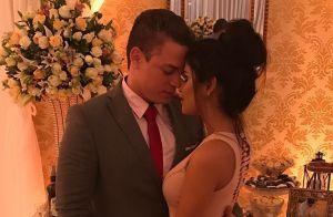 Vestida de noiva, ex-BBB Munik faz ensaio pré-casamento: 'Caiu uma lágrima'