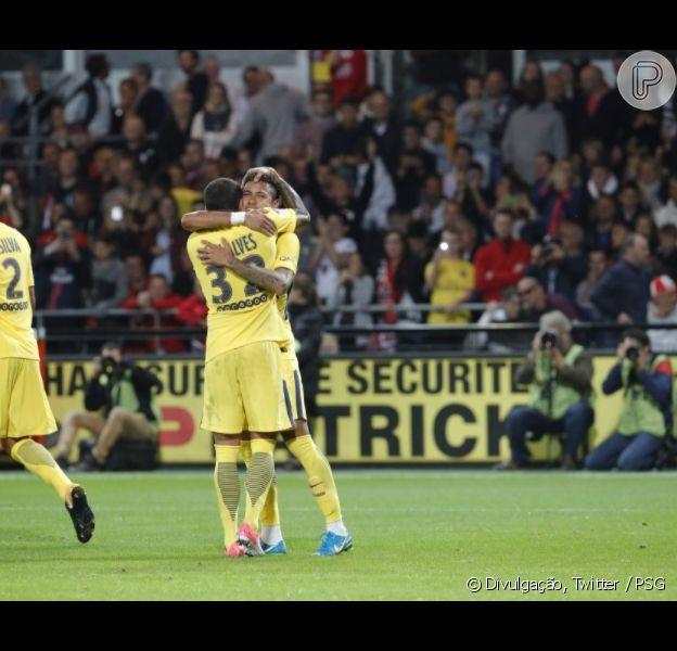 Neymar estreia com gol pelo Paris Saint-Germain no Campeonato Francês, em 13 de agosto de 2017