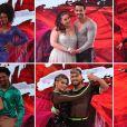 Primeiro episódio do 'Dança dos Famosos', do 'Domingão do Faustão', contou com o time feminino