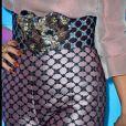Detalhe do cinto usado por Vanessa Hudgens no Teen Choice Awards, realizado no Galen Center, em Los Angeles, neste domingo, 13 de agosto de 2017