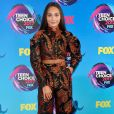 A dançarina Maddie Ziegler também usou conjunto com look  Zac Posen   no Teen Choice Awards, realizado no Galen Center, em Los Angeles, neste domingo, 13 de agosto de 2017