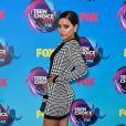 Balmain vestiuBalmain no Teen Choice Awards, realizado no Galen Center, em Los Angeles, neste domingo, 13 de agosto de 2017