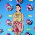 Lucy Hale, atriz da série ' Pretty Little Liars', vestiu Fausto Puglisi   no Teen Choice Awards, realizado no Galen Center, em Los Angeles, neste domingo, 13 de agosto de 2017