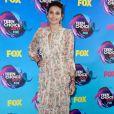 Paris Jackson, filha de Michael Jackson, usou vestido floral  Zimmermann no Teen Choice Awards, realizado no Galen Center, em Los Angeles, neste domingo, 13 de agosto de 2017