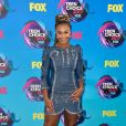 A dançarina  Nia Sioux  usou look  Andrew Gn  no Teen Choice Awards, realizado no Galen Center, em Los Angeles, neste domingo, 13 de agosto de 2017