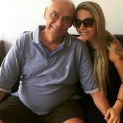 Marcelo Rezende, com câncer, é elogiado por namorada, Luciana: 'Meu guerreiro'