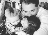 Dupla de Simone, Simaria mostra marido em foto com filhos: 'Pai dedicado'
