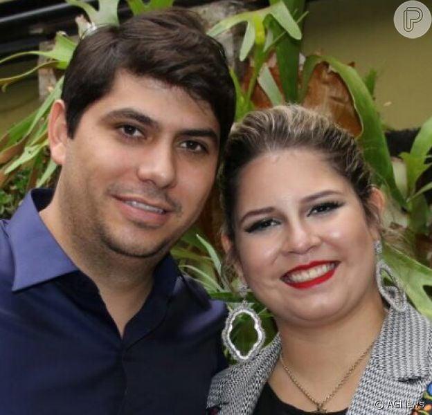 Marília Mendonça terminou noivado de 7 meses com o empresário Yugnir Ângelo, com quem se relacionava há quase dois anos