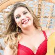 Marília Mendonça orientou plus size ao posar de lingerie: 'Seja fiel a você e se ame do jeitinho que você é'