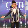Matheus Song, de Caminho dos Príncipes, Santa Catarina, foi o vencedor do concurso Mister Brasil CNB 2017
