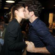 Sophie Charlotte ganha beijo e elogio de Daniel de Oliveira: 'Parceira da vida'