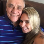 Namorada de Marcelo Rezende foi morar com jornalista após descoberta de câncer