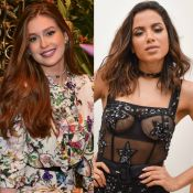 Marina Ruy Barbosa retribui Anitta após elogio por foto sem maquiagem: 'Gata'