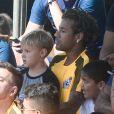 Neymar é pai do pequeno Davi Lucca, de 5 anos, fruto do relacionamento com Carol Dantas