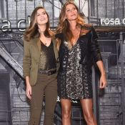 Gisele Bündchen e Camila Queiroz apostam em mesma sandália de R$ 900 em evento