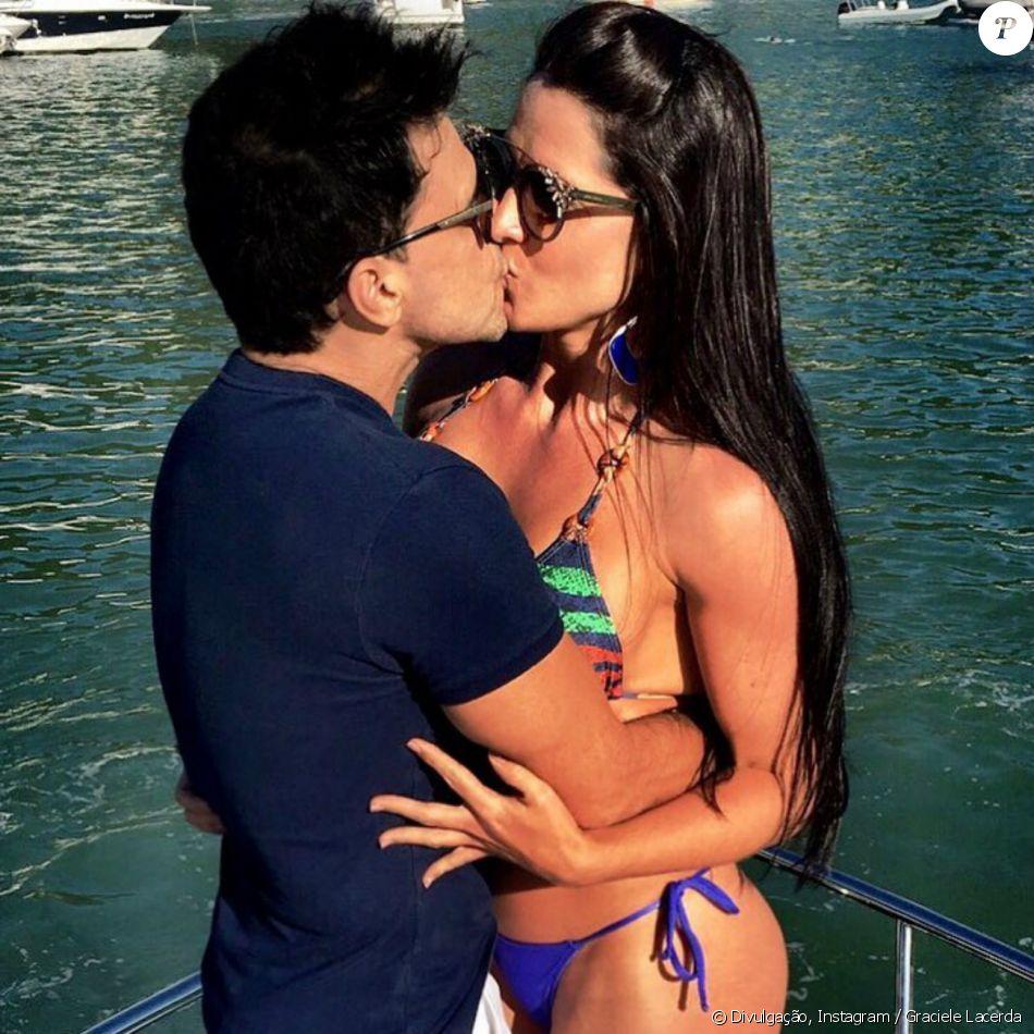 Graciele Lacerda comemora 55 anos do noivo, Zezé Di Camargo: 'Me faz realizada'