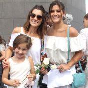 Flávia Alessandra entrega situação inusitada com filha: 'Acharam que era casal'