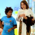 Drica Moraes disse que recebeu apoio do filho, Mateus, na luta contra a doença, mas teve momentos em que se sentiu sozinha