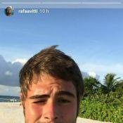 Rafael Vitti deixa Ilhas Maldivas e se declara à Tatá Werneck: 'Te amo'
