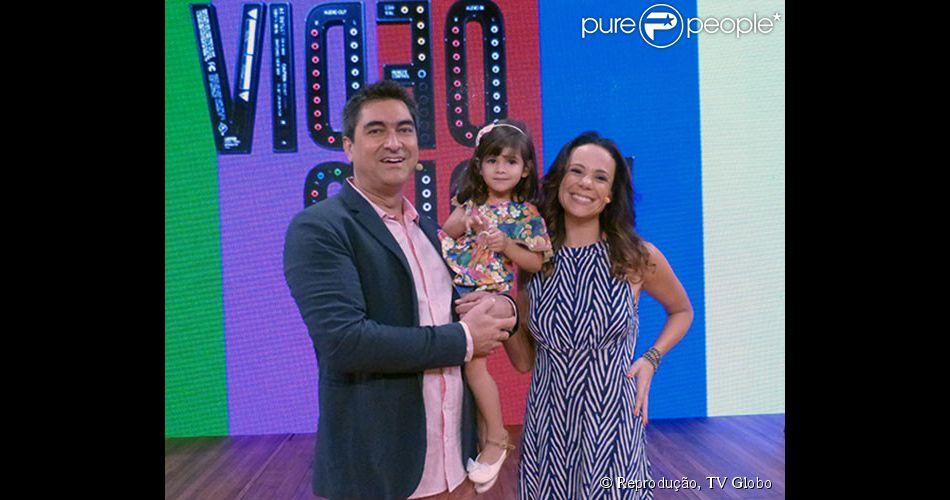 Vanessa Gerbelli participou do 'Vídeo Show' na tarde desta quarta-feira, 16 de abril de 2014. Ao apresentador Zeca Camargo, a atriz falou sobre sua experiência em contracenar com crianças