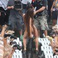 Anitta contou com diversas participações em seu novo clipe