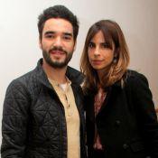 Maria Ribeiro e Caio Blat superam crise na relação:'Ficamos separados uns meses'