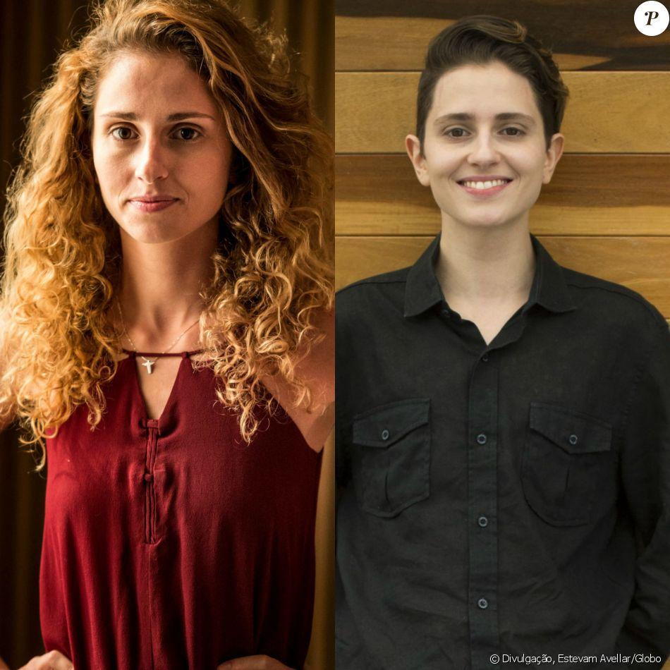 Carol Duarte adota cabelo curto para fase como Ivan em 'A Força do Querer' em fotos divulgadas nesta quarta-feira, dia 23 de agosto de 2017