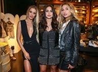 Sasha Meneghel posa com Yasmin Brunet e Thaila Ayala em evento: 'As panteras'