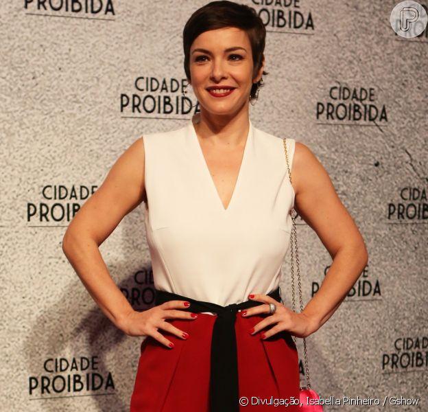 Regiane Alves aprovou cabelo curtinho para viver uma prostituta 'Cidade Proibida', que estreia em setembro na TV Globo