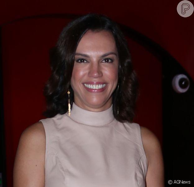 Ana Paula Araújo armou estratégia para curtir festa de cinco anos do grupo Porta dos Fundos e madrugar nos estúdios da Globo: 'Tenho um 'deadline' para ir embora'