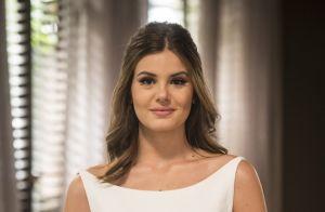 Camila Queiroz quer vestido clássico para casamento e elege madrinhas: 'Irmãs'