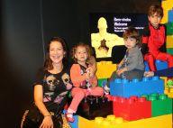 Luana Piovani celebra com festa os dois anos dos filhos gêmeos Bem e Liz, no Rio