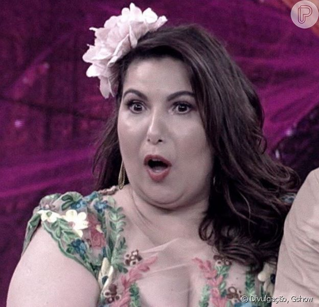Mariana Xavier ficou chocada com a nota dada por Carolina Kasting por seu desempenho no forró, no 'Dança dos Famosos'