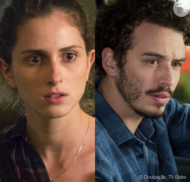 Ivan (Carol Duarte) vai descobrir que está 'grávido' de Cláudio (Gabriel Stauffer) na novela 'A Força do Querer'