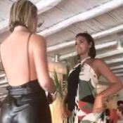 Bruna Marquezine e Fiorella Mattheis dançam em cima da mesa em clube de Mykonos