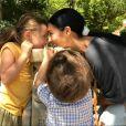 Dupla de Simone, Simaria publicou foto rara dos filhos,  Giovanna e Pawel, no Instagram nesta segunda-feira, 28 de agosto de 2017