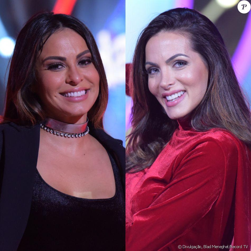Alinne Rosa e Carla Prata se machucaram e não competiram no 'Dancing Brasil' desta segunda-feira, 28 de agosto de 2017