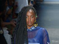 Cantora Iza estreia em desfile da SPFW e elege ícone fashion: 'Naomi Campbell'