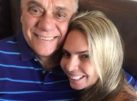 Luciana está nos EUA para comprar medicamentos para Marcelo Rezende, com câncer