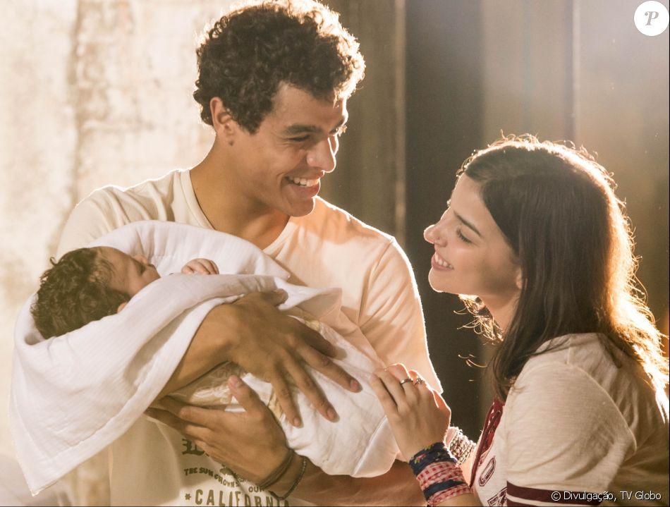 Matheus Abreu revela ao Purepeople que teve o desejo de ser pai aflorado após contracenar com um bebê em 'Malhação - Viva a Diferença'